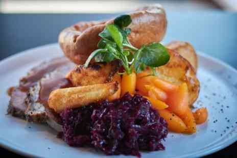 Bourgee Restaurant Norwich - Sunday Roast for Two or Four with Optional Glass of Wine - Save 41%