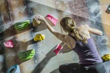 Yonder - Full Day Bouldering Centre Entry and Introduction to Bouldering for One or Two - Save 50%