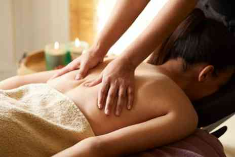 Christal Beauty - Back, Neck and Shoulder Massage and Optional Deep Cleanse or Microdermabrasion Facial - Save 40%