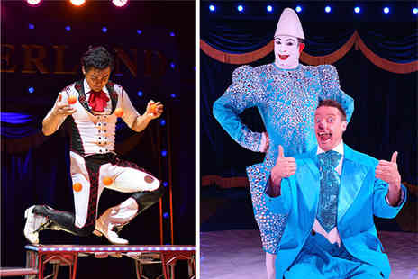 Circus World Entertainment - Ticket to Circus Wonderland - Save 38%