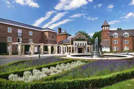 The Belfry - Overnight spa retreat for two people with breakfast, bottle of Prosecco and leisure acces - Save 51%