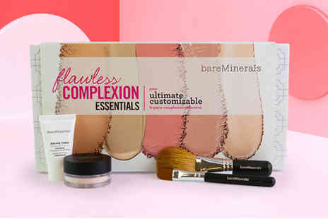 Deals Direct - Four piece bareMinerals flawless complexion set - Save 0%
