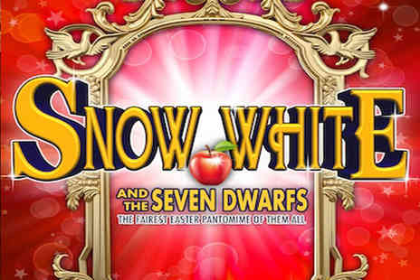 Royal Hippodrome Eastbourne - Ticket to Snow White and the Seven Dwarfs Easter panto with an ice cream from 10th To 13th Apr 2019 - Save 31%