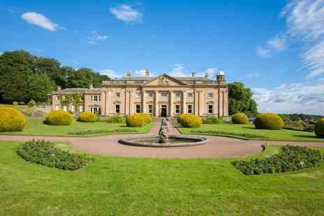 Wortley Hall - Overnight stay for two people with breakfast, Gin & Tonic each and an Amuse Bouche each - Save 36%