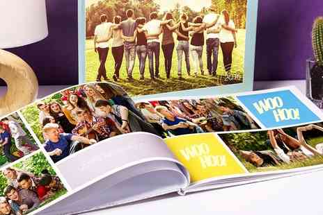 Colorland - Up to Five Personalised Hardcover A4 Photobooks Up to 60 Pages - Save 84%