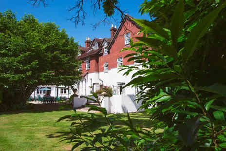 Moorhill House Hotel - One Night New Forest Escape for Two - Save 0%