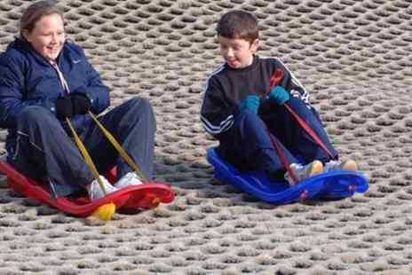Ackers Adventure Centre - One Hour Tobogganing Pass for Up to Four Children - Save 20%