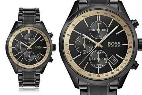Best Watch Company - Mens HB1513578 Hugo Boss Grand Prix watch - Save 67%