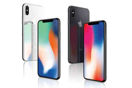 Renew Electronics - Refurbished 64GB iPhone X or 256GB iPhone choose from two colours - Save 0%
