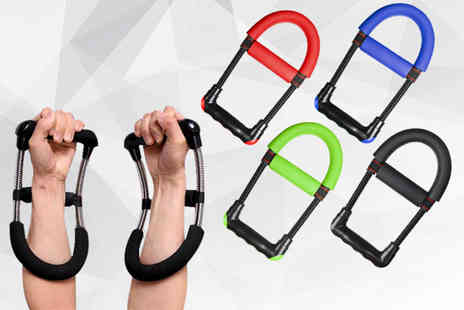 hey4beauty - Wrist, hand and forearm training device choose from four colours - Save 0%