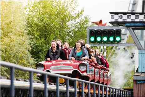 Thorpe Park Resort - Family Visit and Lunch for Two Adults and Two Children - Save 0%