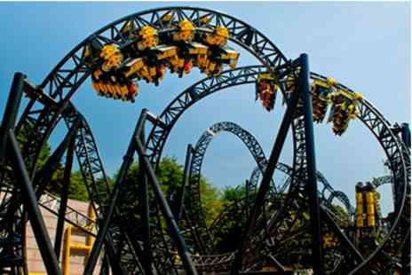 Alton Towers Resort - Visit with Lunch for Two Adults - Save 0%