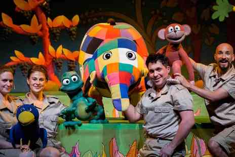 Artsdepot - Elmer the Patchwork Elephant A Colourful Theatre Treat for All Ages - Save 30%
