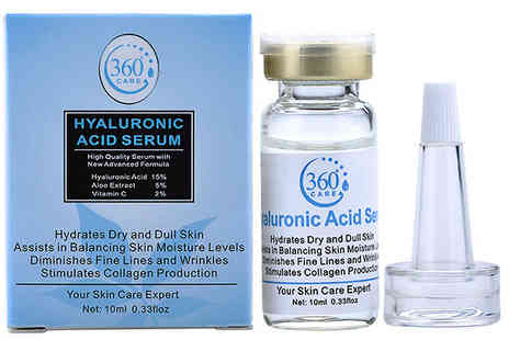 Seated Toad - Hyaluronic Acid Serum Choose 1, 2 or 3 Pack - Save 83%