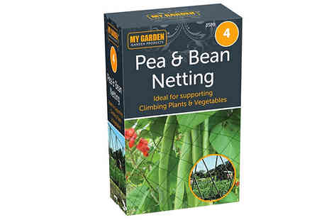 Home Season - 4m Pea and Bean Netting - Save 75%