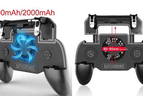 Domo Secret - Smartphone Gaming Controller with Cooling Fan - Save 80%
