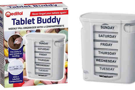 Home Season - Weekly Pill Organiser - Save 70%