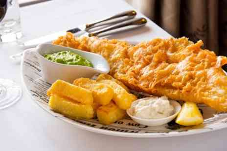 Wensleydale Heifer - Fish and chips for 2 - Save 46%