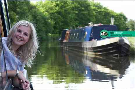 Lancashire Canal Cruises - Three hour barge hire for up to 12 people - Save 34%