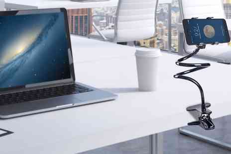 Groupon Goods Global GmbH - One or Two Adjustable Universal Gooseneck Smartphone Stands in Choice of Colour - Save 69%