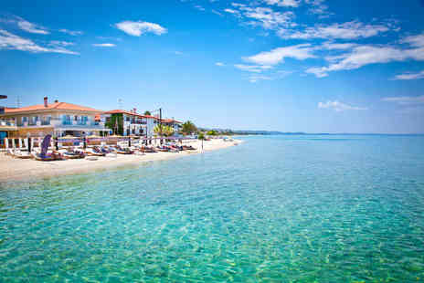 Bargain Late Holidays - Escape with a seven nights getaway to Halkidiki Now with the ability to choose your flight - Save 0%