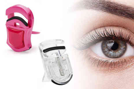 hey4beauty - Car shaped eyelash curler choose from 2 colours - Save 80%