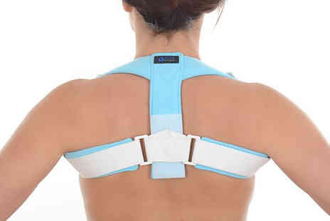 Sole Control - Orthotic upper back posture corrector choose from two sizes - Save 53%
