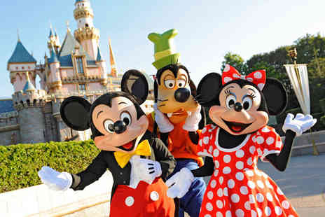 Super Escapes Travel - Two nights Disneyland Paris getaway with return flights - Save 24%