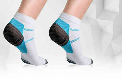 Bellap - Pair of ankle compression socks - Save 77%