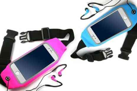 Groupon Goods Global GmbH - Vivo Smartphone Running Belt in Choice of Colour - Save 75%
