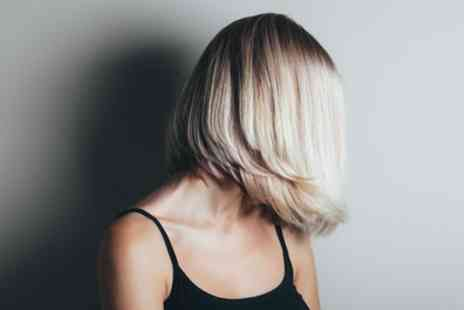 Hair Flair - Wash, Cut and Blow Dry with Optional Half Head Highlights or Full Colour - Save 47%
