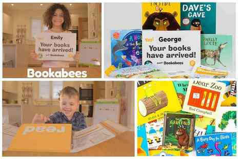 Bookabees - 35% off your first Bookabees Box Award Winning Personalised Monthly Box of Handpicked Books - Save 35%