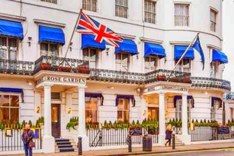 London Elizabeth Hotel - Classic Double Room for Two with Breakfast and Optional Dinner or Afternoon Tea - Save 25%