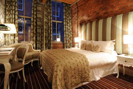 The Luxury Velvet Hotel - One Night Manchester City Break for Two - Save 0%