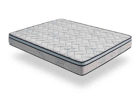 MGB Lifestyles - Visco Luxury Sport Life Mattress Choose from 4 Sizes - Save 90%