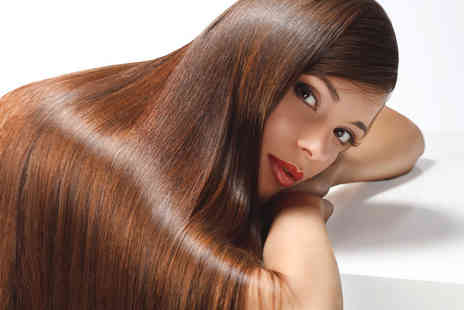 HairRitz - 12 week Brazilian keratin blow dry treatment - Save 51%