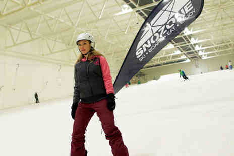 Snozone Xscape Castleford - Full day beginner course in skiing or snowboarding - Save 50%