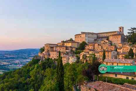 Bargain Late Holidays - Four Star Escape with a three, five or seven nights getaway to Umbria Now with the ability to choose your flight - Save 0%