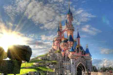 Weekender Breaks - Two nights Disneyland Paris break with a one day two park ticket and return flights - Save 38%