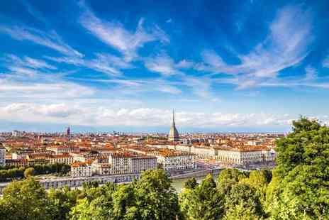 Via Holiday - Two nights central Turin holiday with return flights - Save 45%