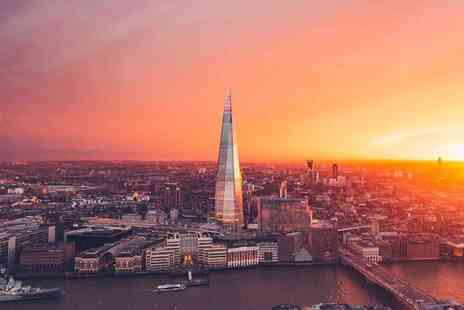 OMGhotels - Four Star Overnight London stay with breakfast, View from The Shard tickets and a river cruise - Save 0%