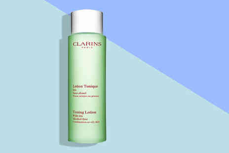 Deals Direct - 200ml Clarins toning lotion - Save 38%