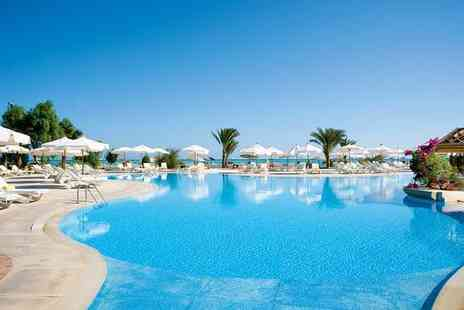 Movenpick Resort - Five Star Exclusive Beachfront Luxury Overlooking Red Sea for two - Save 26%