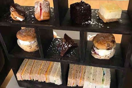 Cafe Coal - Afternoon tea for two people, include a glass of Prosecco or gin and tonic each or four people - Save 67%