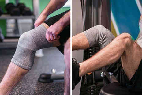 Hey4Beauty - Pair of compression knee support sleeves - Save 75%