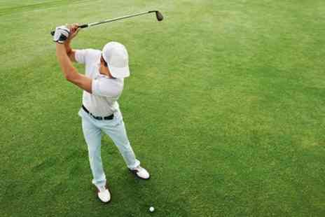 George Lings Golf - One Hour Golf Lesson with PGA Assistant Professional Golfer - Save 43%