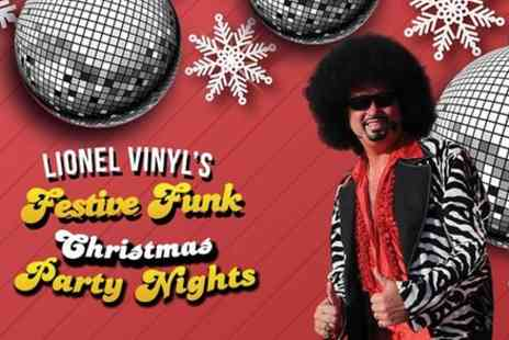 VIVA Blackpool - Lionel Vinyls Festive Funk Christmas Party Nights - Save 0%