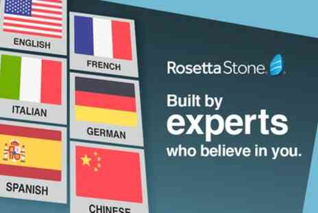 Rosetta Stone - Official Rosetta Stone Language Course. 3, 6, 12 or 24 months subscription - Save 41%