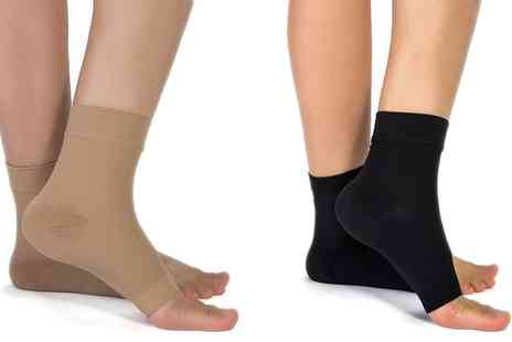 Groupon Goods Global GmbH - One, Two or Four Pairs of Plantar Fasciitis Socks - Save 0%