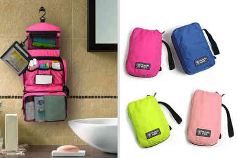 hey4beauty - Hanging travel wash bag choose from four colours - Save 75%